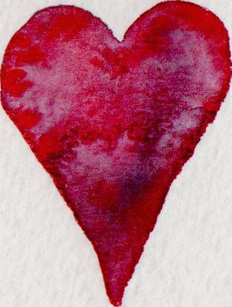Herz, Gartenblog