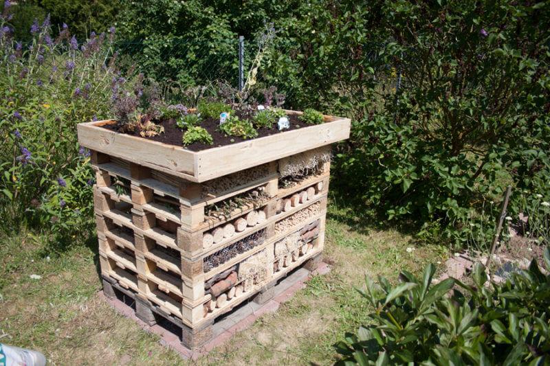 Insektenhotel bauen, Anleitung Insektenhotel