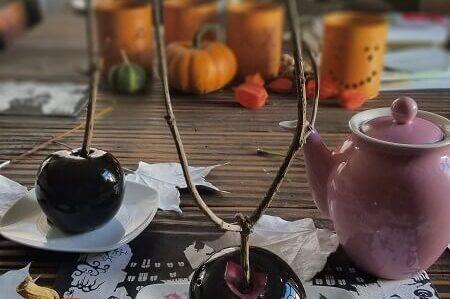 Halloween Rezept Giftapfel
