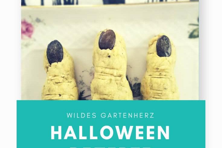 Halloween Rezepte Hexenfinger