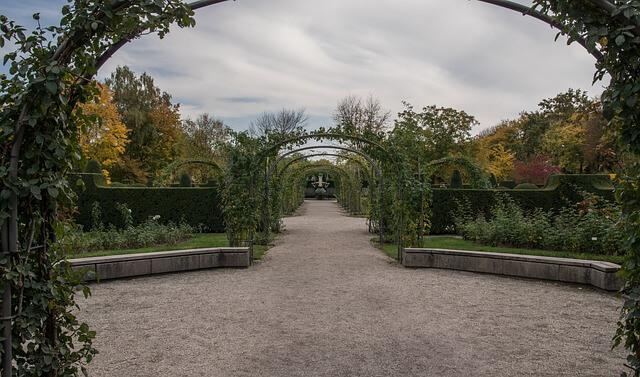 Gartengestaltung Ideen Bilder gang 2