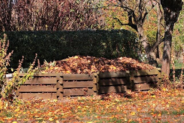 gartengestaltung ideen bilder kompost