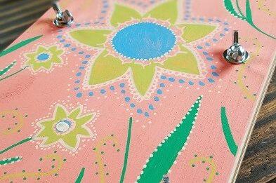 DIY Blumenpresse