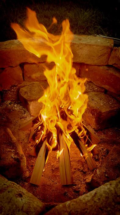 Grillplatz Feuer