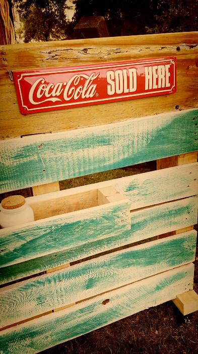 Grillplatz Coca Cola