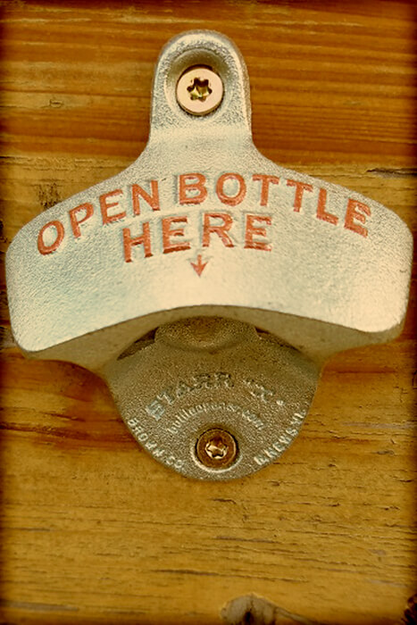 Open Bottle