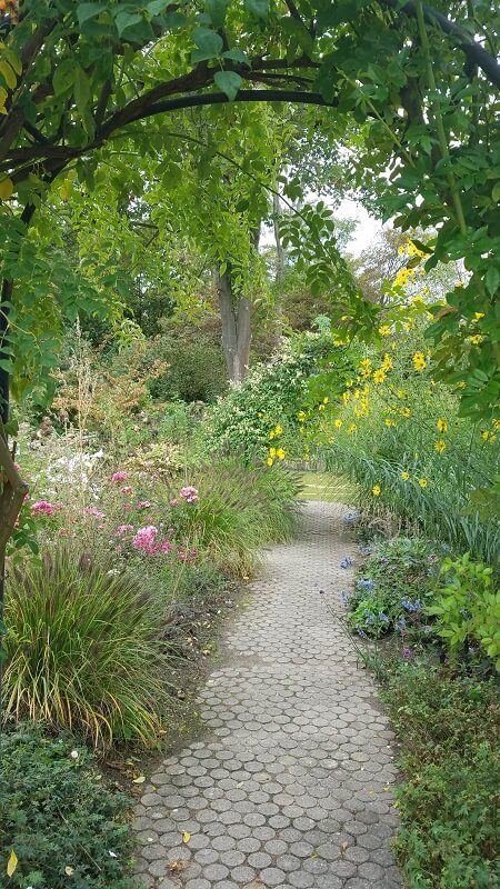 Durchgang der botanische Garten