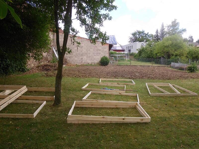 Mein Garten vorher und nachher